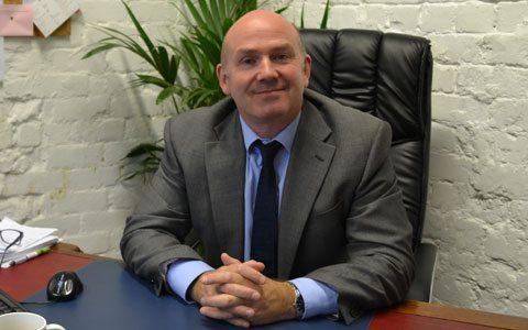 Rob Pimblett Managing Director of Manners Pimblett Solicitors in Poynton, Cheshire